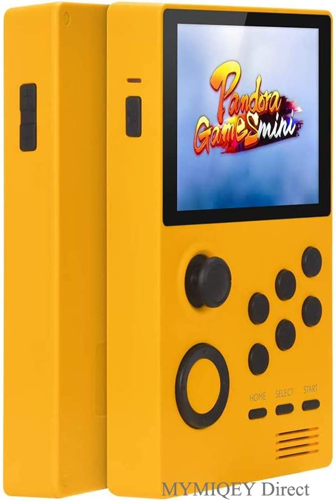 3D Pandora Games Supretro Mini Handheld Game Console - 2006 Retro Games Installed, Search/Save/Hide/Delete/Add Games, 3.5 Inch IPS Screen, Support 3D Games, Bluetooth/WiFi Function, Can Play on TV