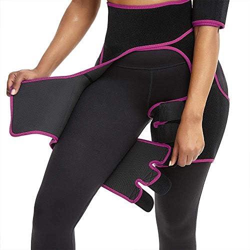 Waist and Thigh Trimmer for Women Weight Loss Sweat Band Waist Trainer Butt Lifter Neoprene Hip Shapewear Enhancer 2