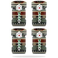 Skin For DJI Inspire 1 Drone Battery (4 pack) – Cabin Stripes | MightySkins Protective, Durable, and Unique Vinyl Decal wrap cover | Easy To Apply, Remove, and Change Styles | Made in the USA