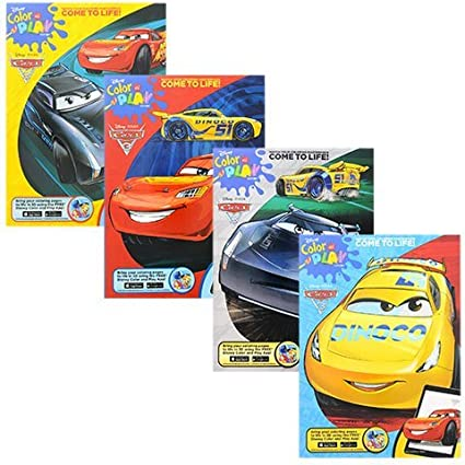 Amazon Com Disney Pixar Cars 3 Color And Play Coloring And
