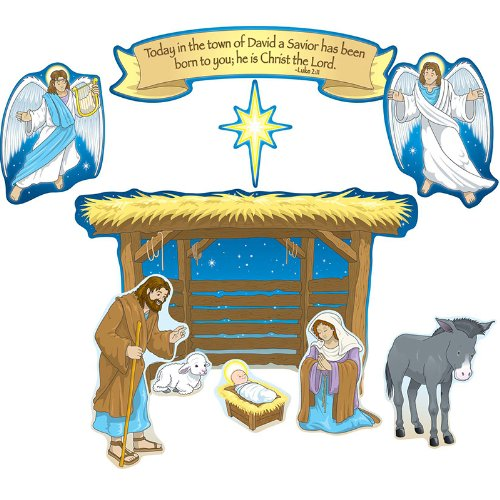 Nativity Bulletin Board Cut Out Set for $<!--$6.99-->
