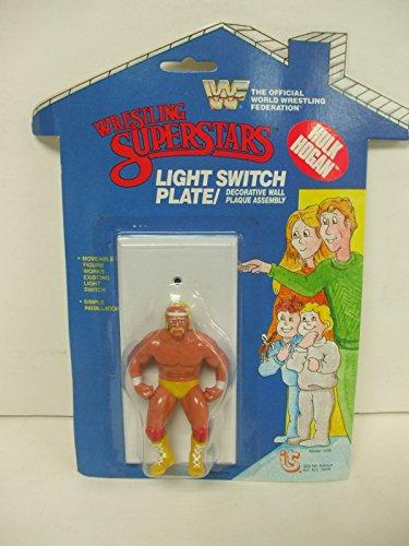Titan Sports Wrestling Superstars WWF WWE - Hulk Hogan Light Switch Plate Cover