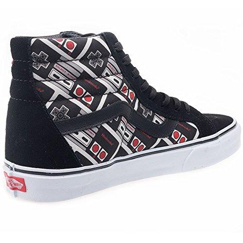Unisex Vans Sk8-hi Slanke Vrouwen Skate Shoe Controller / True White