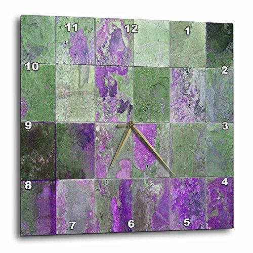 3dRose dpp 29112 3 Purple Tile Wall 15 Inch