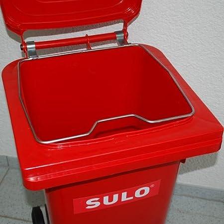 2 Stück SULO Deckelöffnungszapfen passend für SULO Müllcontainer mit Runddeckel SULO Ersatzteil für Mülltonnen