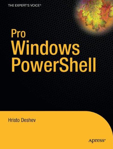 Pro Windows PowerShell by Brand: Apress