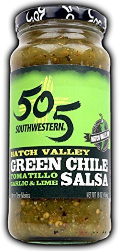 505 Southwestern 16oz Jar (Green Chile Salsa (Tomatillo, Garlic and Lime)) Green Tomatoes Salsa