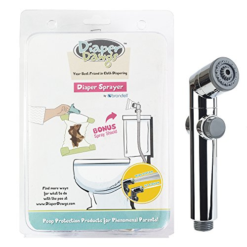High Powered Cloth Diaper Toilet Sprayer