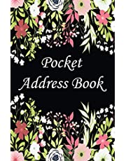 Pocket Address Book: Alphabetical order contact notebook journal,keeping track of name,address,phone,email,birthday and More..Address book with A-Z alphabetical Tabs.