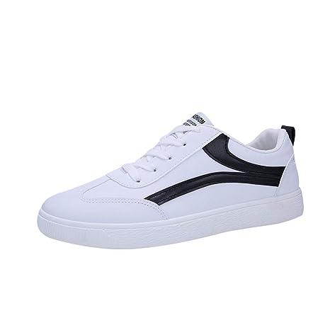 7047e58a0d45f Amazon.com: Men's Flat Lace Up Sneakers,Mosunx Athletic Women ...