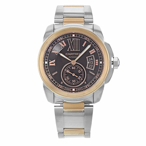 Cartier Calibre De Cartier Chocolate Brown Dial Mens Watch ()