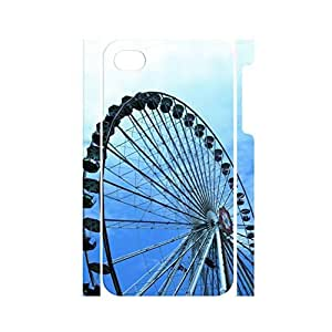 Colorful Sky Wheel Pattern Tough Plastic Case Cover for Iphone 5c
