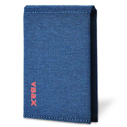 Slim Wallet - Minimalist Bifold RFID Front Pocket Credit Card Holder Wallets for Men (Blue)