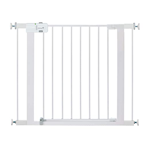 Safety 1st Easy Install Metal Baby Gate with Pressure Mount Fastening