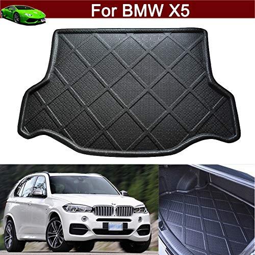New Car Boot Mat Carpet Cargo Mat Cargo Liner Cargo Cover Rear Trunk Liner Tray Floor Mat for BMW X5 2007 2008 2009 2010 2011 2012 2013 2014 2015 2016 2017 2018 2019 2020