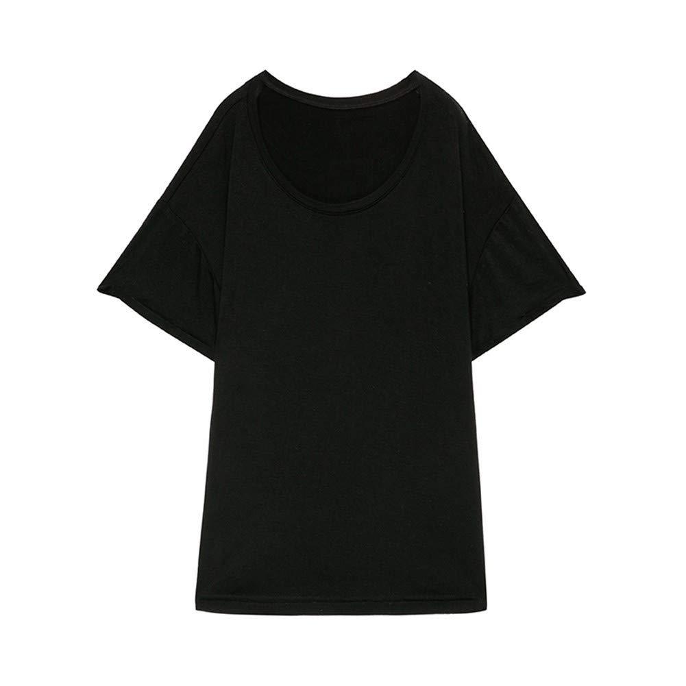 Lxj Sweater Frauenkleidung Sommer 2017 Modales Kurzärmliges Loses Wildes Schwarzes T-Shirt Hemdfrauengezeiten