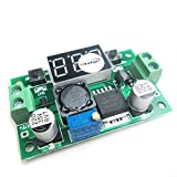 HiLetgo DC-DC LM2596 Step Down Power Module Adjustable With Voltage Meter Display FREE Studs