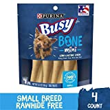 Purina Busy Made in USA Facilities Small Breed Dog Bones, Mini - (8) 4 ct. Pouches