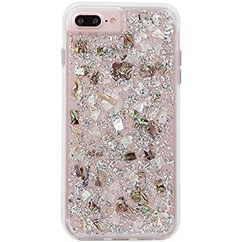 best service 8fdf5 f9366 Amazon.com: Case-Mate iPhone 8 Plus Case - KARAT PETALS - Made with ...