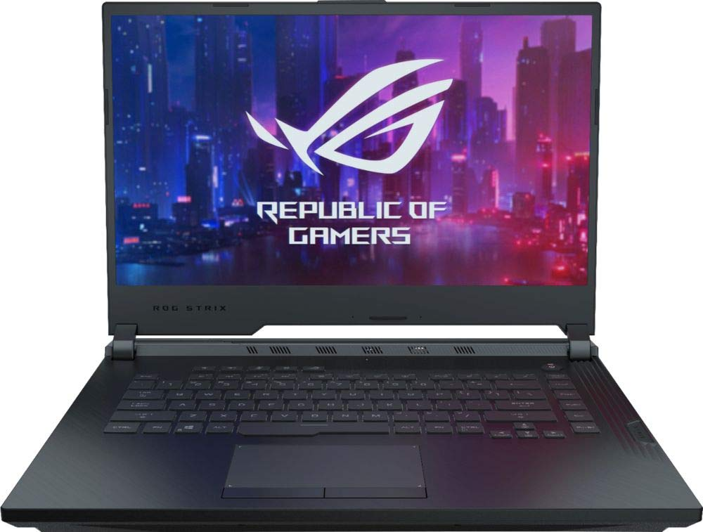 "ASUS ROG G531GT-BI7N6 15.6"" FHD Gaming Laptop Computer, Intel Hexa-Core i7-9750H Up to 4.5GHz, 8GB DDR4, 512GB SSD, NVIDIA GeForce GTX 1650, 802.11ac WiFi, HDMI, USB 3.0, Windows 10"