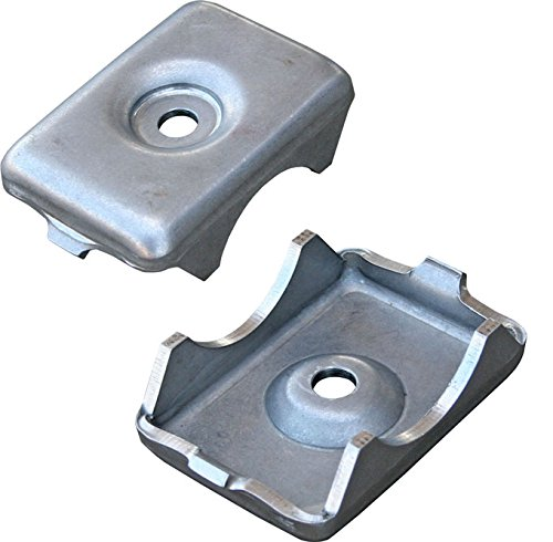 NEW CURRIE WELD-ON LEAF SPRING PADS FOR 1964-1966 FORD MUSTANG, REPLICA MOUNTS, LASER CUT & STAMPED, 1964 1965 1966, 2 PADS