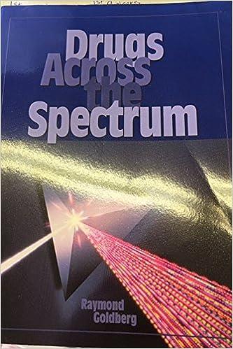 Drugs across the spectrum raymond goldberg 9780314027900 amazon drugs across the spectrum fandeluxe Images