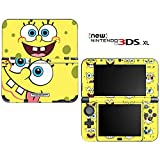 Spongebob Squarepants Decorative Video Game Decal Skin Sticker Cover for the ''New'' Nintendo 3DS XL (2015-2017 Edition)
