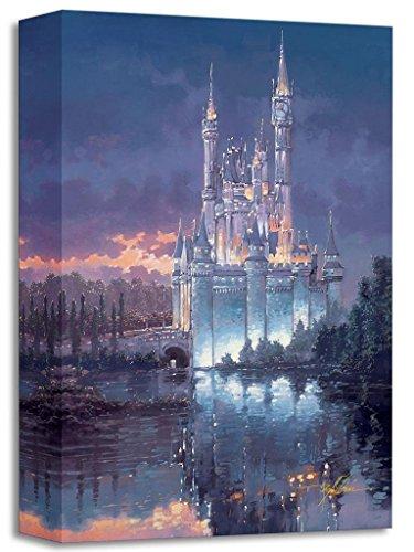 Royal Reflection by Rodel Gonzalez - Treasures on Canvas - Disney Fine Art Featuring Cinderella