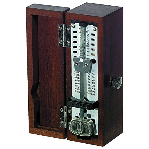 Wittner 903030 Taktell Super-Mini Mahogany Wood Case Metronome