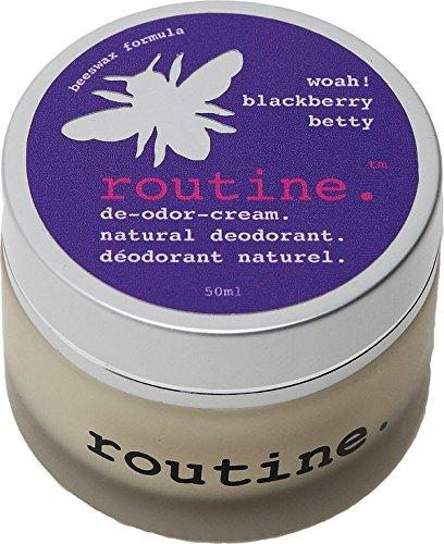 Routine De-Odor-Cream Handcrafted 50ml Clay Formula Deodo...
