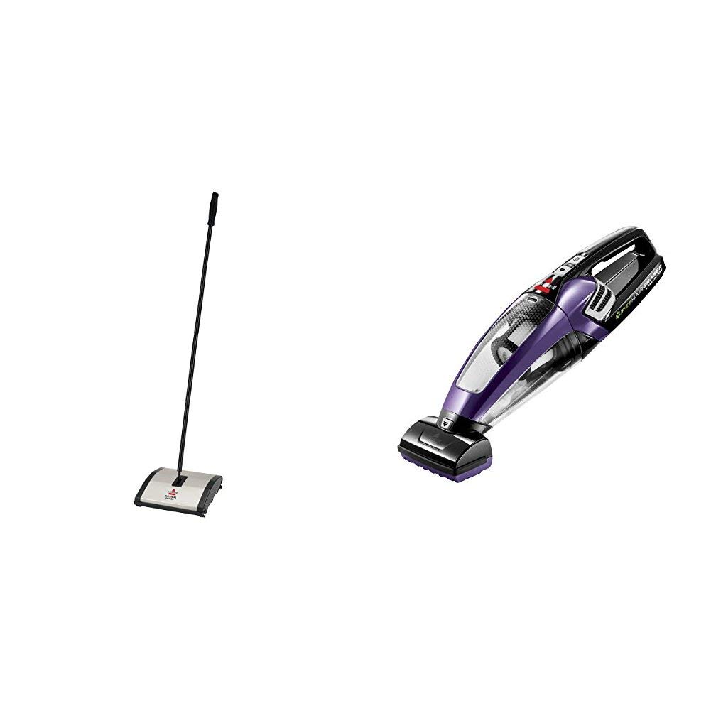 BISSELL Sweeper and Hand Vac Bundle by Bissell