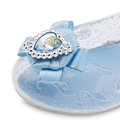 Cinderella Costumes 2016 (DISNEY STORE PRINCESS CINDERELLA COSTUME SHOES - LIGHT UP - 2016 (9/10))