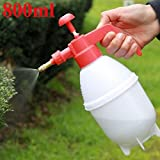 2 of pack 800ml Portable Pressure Watering Can Garden Plant Spray Bottle