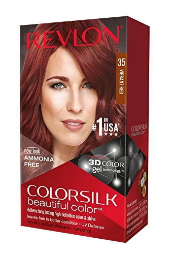 Revlon ColorSilk Haircolor, Vibrant Red