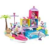Mega Bloks Barbie Pet Beach Boardwalk Building Set