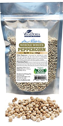 Where to find white peppercorns whole?