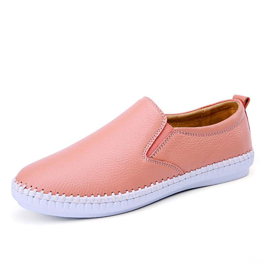 York Zhu Women Fashion Flats Shoes Ladies Slip-On Loafers Female Moccasins Shoes