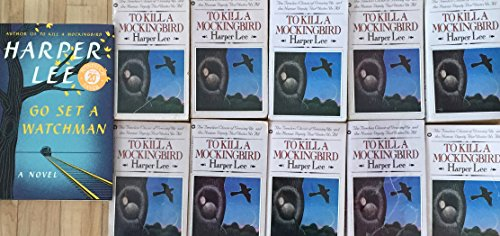 To Kill a Mockingbird by Harper Lee Class Reading Group Set of 10 Copies includes Hardcover Edition of Go Set a Watchman (To Kill A Mockingbird Grand Central Publishing)