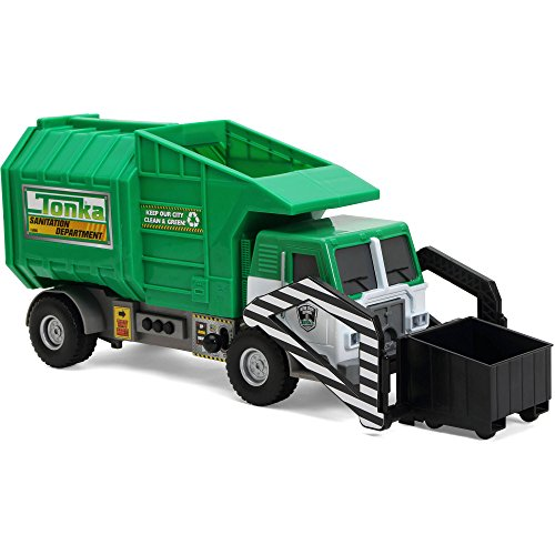 Funrise Toy Tonka Mighty Motorized Kids Toys Play Vehicle Garbage Truck by Tonka