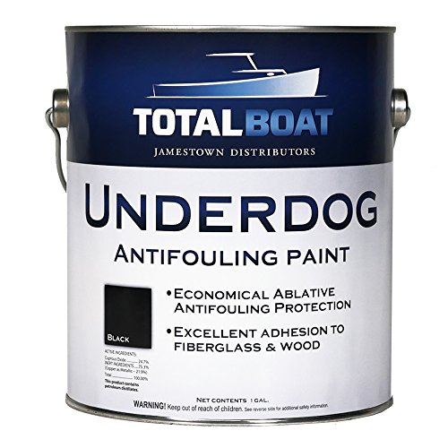 TotalBoat Underdog Bottom Paint (Black) Gallon (Hard Bottom Paint)