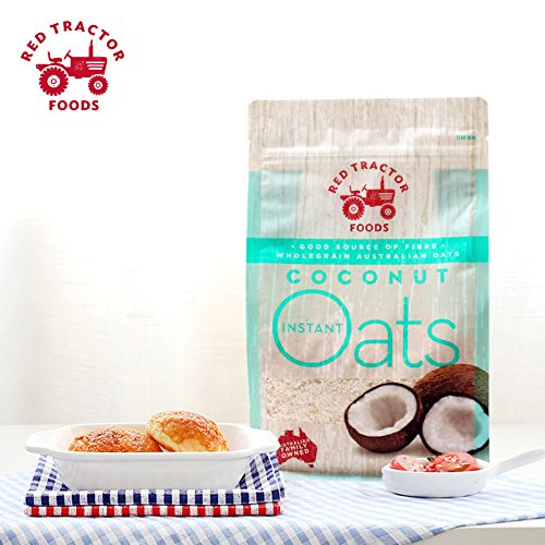 (Red Tractor Foods, Coconut Omega 3 Instant Oats, Farmed for Taste)