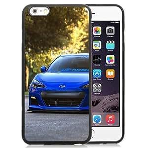 Fashion DIY Custom Designed iPhone 6 Plus 5.5 Inch Phone Case For Subaru BRZ Blue Phone Case Cover by ruishername