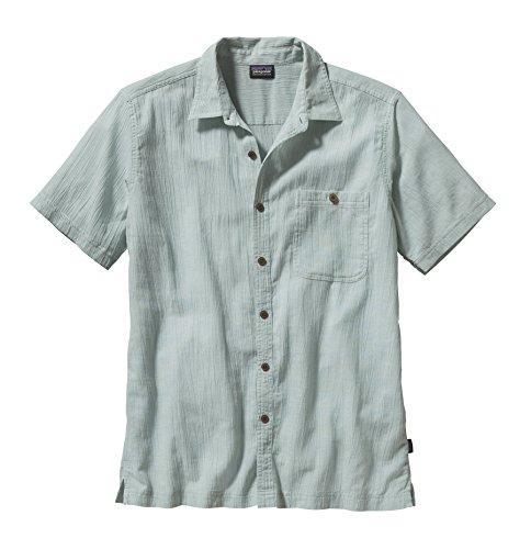 Patagonia Mens A/C® Shirt Chambray: Gypsum Green MD