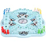 Children Educational Game Interesting Pop 'n Drop Penguins Kids Penguins Board Games Interactive Super Fun Family Small Table Games Set