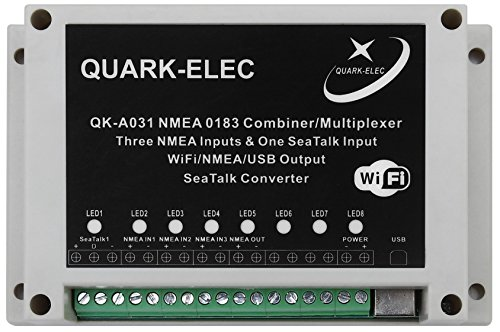 NMEA 0183 Multiplexer with SeaTalk Converter (Nmea 0183 Output)