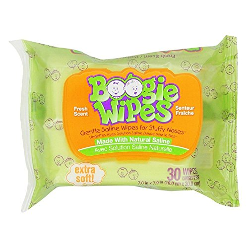 (Boogie Wipes Fresh Scent 30 Each)
