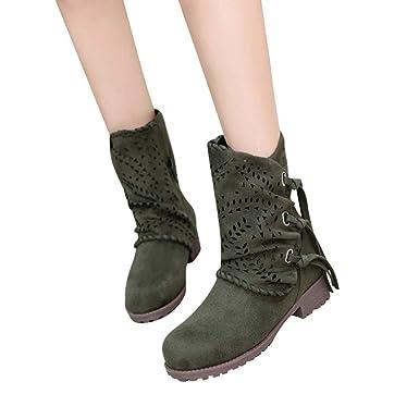 Tianwlio Herbst Stiefeletten Schuhe Boots Stiefel Damen 8mnyvNw0O