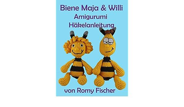 Amazoncom Biene Maja Willi Amigurumi Häkelanleitung German