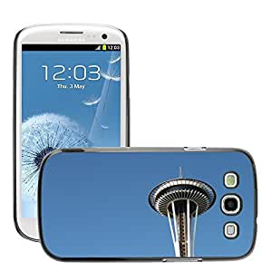 Hot Style Cell Phone PC Hard Case Cover // M00169118 Space Needle Seattle Washington // Samsung Galaxy S3 S III SIII i9300
