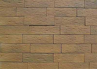 18pcs Plastic molds ANTIQUE BRICK VENEER concrete plaster wall brick tiles #W03